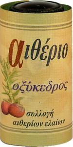 αιθέριο έλαιο οξύκεδρου